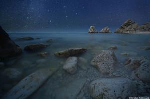Andromeda on the Rocks by Cristian Fattinnazi