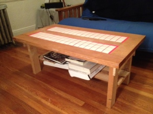 The Horizontal Door Table