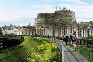 Rendering of New York City Highline. Image from www.nydailynews.com