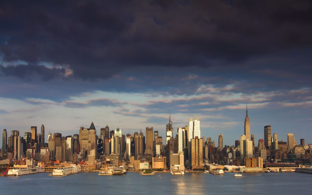 New York's proximity to the waterfront and dense population makes it vulnerable. Image from foundwalls.com