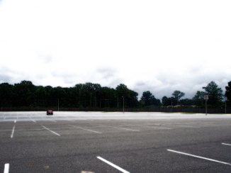 Not a pretty picture. Image Courtesy of http://commons.wikimedia.org/wiki/File:Parkinglot_empty.jpg