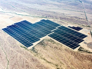 Agua Caliente, located between Yuma and Phoenix, is the world's largest fully-operational solar-power plant.